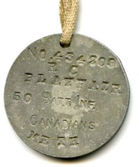 Ross's dog tag